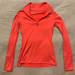 Under Armour Cold Gear 1/4 Zip Long Sleeve